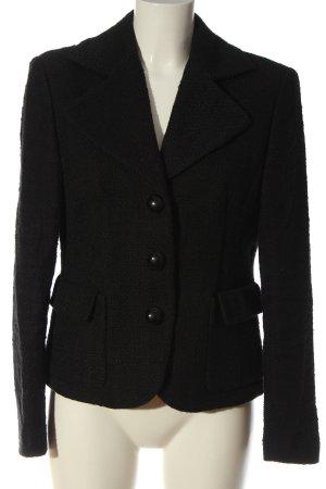 Marc Aurel Gebreide blazer zwart zakelijke stijl