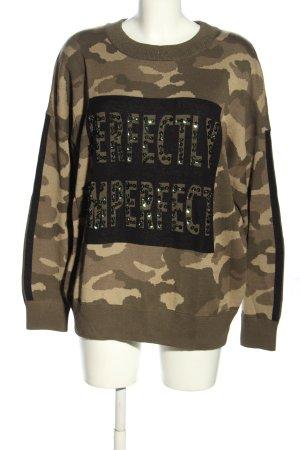 Marc Aurel Sweatshirt motif de camouflage style décontracté