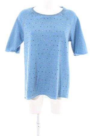 Marc Aurel Sweatshirt blau Casual-Look