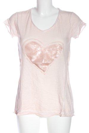 Marc Aurel T-Shirt creme Motivdruck Casual-Look