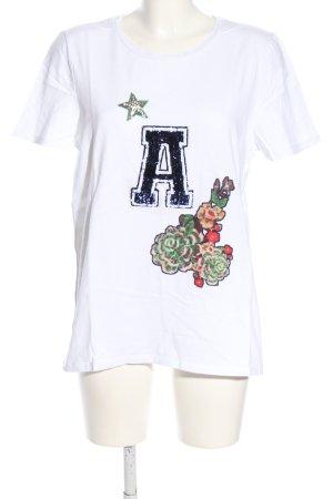 Marc Aurel T-Shirt Motivdruck Casual-Look