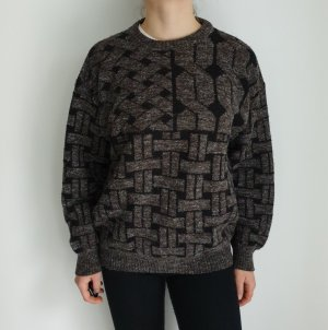 Marc Bellini Oversize Pullover Hoodie Pulli Sweater Strickjacke Top Oberteil True Vintage
