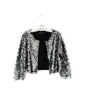 marc by marc jackobs • black tela sequin crop jacket