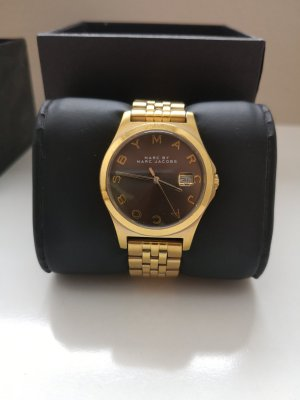 Marc by Marc Jacobs Watch With Metal Strap gold-colored-dark brown