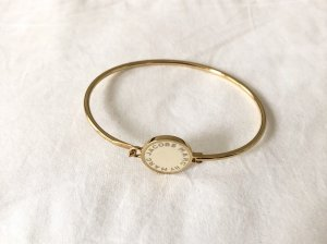Marc by Marc Jacobs Bangle licht beige-goud Metaal