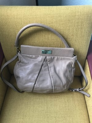 Marc by Marc Jacobs Hobos grey brown leather
