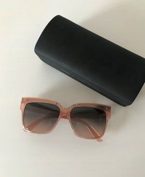 Marc by Marc Jacobs Damen Sonnenbrille MMJ 423/S Brille Rosa Oversize Cateye