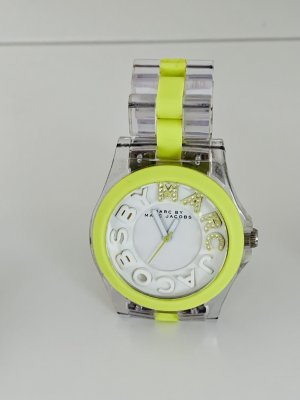 Marc by Marc Jacobs Analog Watch silver-colored-neon green