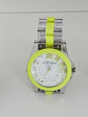 Marc by Marc Jacobs Analoog horloge zilver-neon groen
