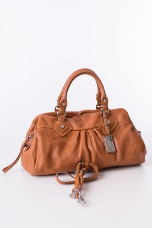 MARC BY MARC JACOBS - Handtasche Classic Q Groove Cognacbraun