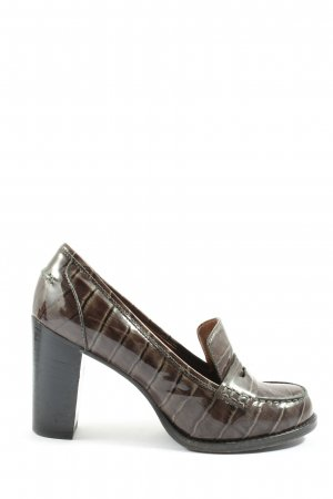 Marc by Marc Jacobs High Heels braun Allover-Druck Casual-Look