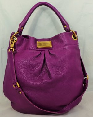Marc by Marc Jacobs Borsa sacco viola scuro Pelle