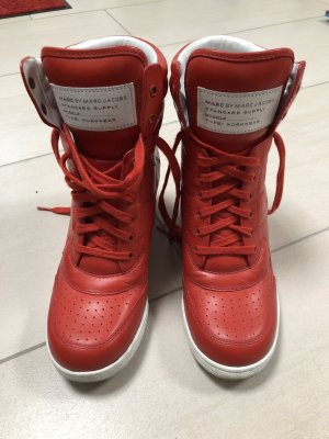 Marc by Marc Jacobs Wedge Sneaker red-white leather