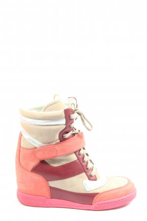 Marc by Marc Jacobs Keil-Stiefeletten mehrfarbig Casual-Look
