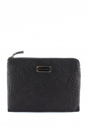 Marc by Marc Jacobs Notebooktasche schwarz Blumenmuster Casual-Look