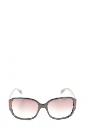 Marc by Marc Jacobs Oval Sunglasses brown-light orange animal pattern