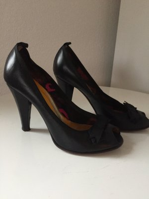 Marc by Marc Jacobs Pumps Peeptoe Leder schwarz 38