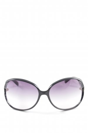 Marc by Marc Jacobs Retro Brille Animalmuster Casual-Look