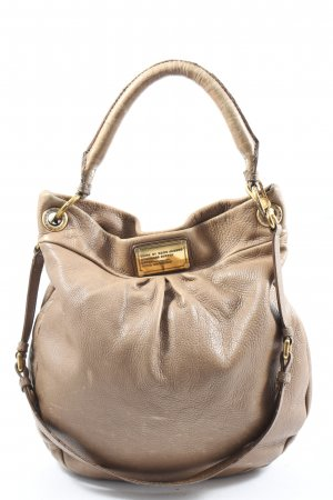 Marc by Marc Jacobs Schultertasche creme Business-Look