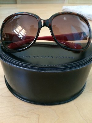 Marc by Marc Jacobs Angular Shaped Sunglasses brown-red