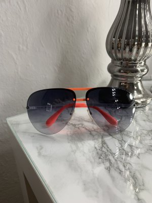 Marc by Marc Jacobs Bril wit-neonoranje
