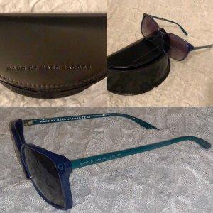 Marc by Marc Jacobs Angular Shaped Sunglasses black-petrol
