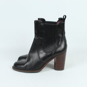 Marc by Marc Jacobs Booties black leather