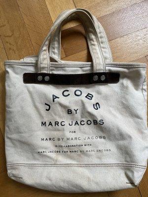 Marc by Marc Jacobs Torebka typu worek kremowy-ciemnobrązowy