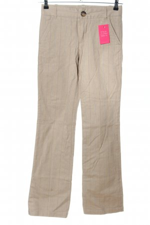 Marc by Marc Jacobs Stretchhose wollweiß Streifenmuster Casual-Look