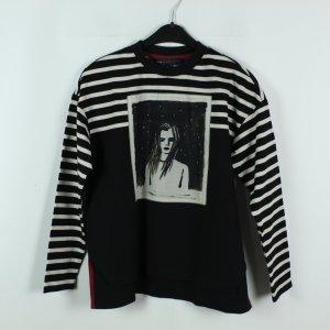 Marc by Marc Jacobs Sweatshirt Gr. XS schwarz gemustert (20/02/390*)