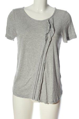 Marc by Marc Jacobs T-Shirt hellgrau meliert Casual-Look
