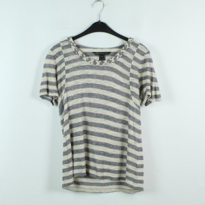 MARC BY MARC JACOBS T-shirt Gr. M beige grau gestreift (20/02/441)