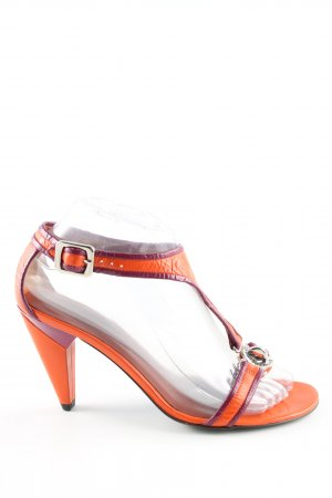 Marc by Marc Jacobs T-Strap Pumps light orange-lilac casual look