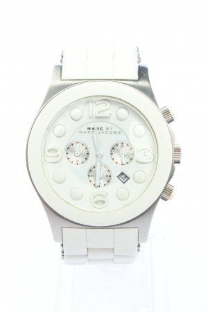 Marc by Marc Jacobs Uhr mit Metallband silberfarben Casual-Look