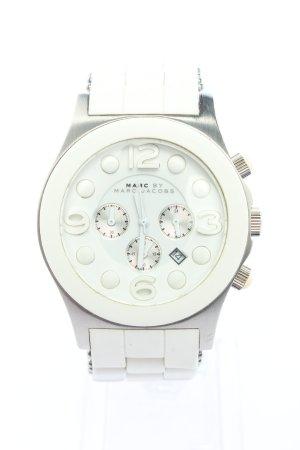 Marc by Marc Jacobs Horloge met metalen riempje zilver casual uitstraling