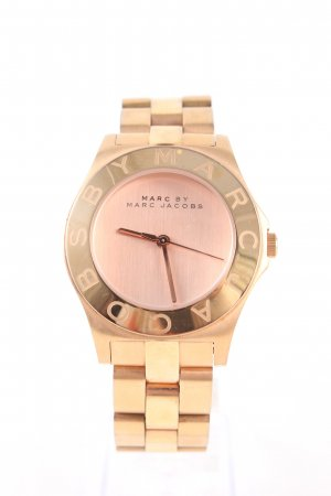 Marc by Marc Jacobs Uhr mit Metallband goldfarben Business-Look
