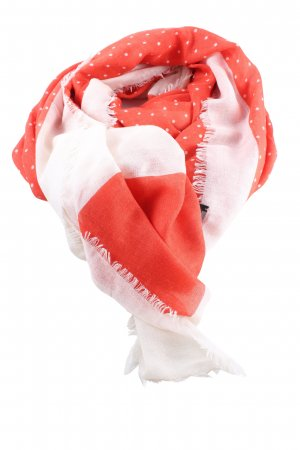 Marc by Marc Jacobs Woolen Scarf light orange-white abstract pattern casual look