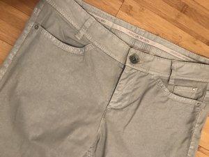 Marc Cain Pantalone cinque tasche grigio chiaro Cotone