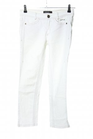 Marc Cain 7/8 Jeans weiß Casual-Look