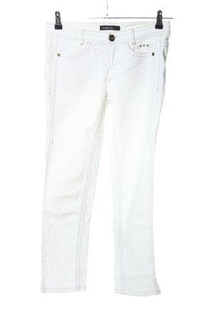 Marc Cain Jeans 7/8 blanc style décontracté