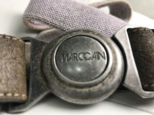 Marc Cain Stoffen riem paars-room