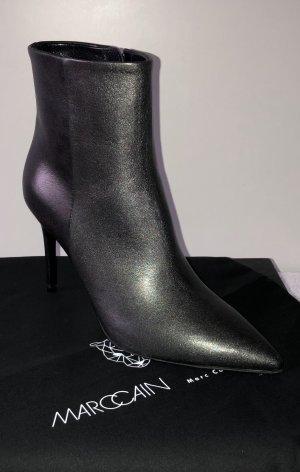 Marc Cain Ankle Boots Metallic-Look NEU