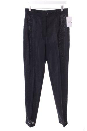 Marc Cain Spodnie garniturowe czarny W stylu biznesowym