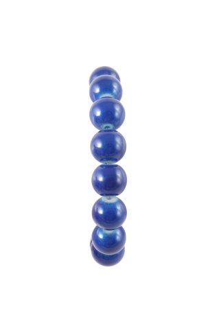Marc Cain Armband blau Casual-Look