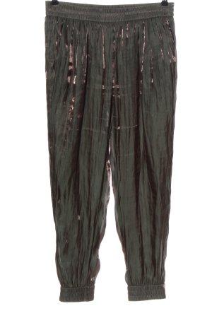 Marc Cain Luźne spodnie brąz Elegancki