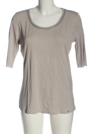 Marc Cain Basic-Shirt hellgrau Casual-Look