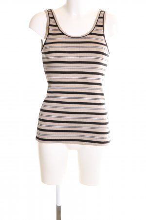 Marc Cain Basic Top Streifenmuster Casual-Look