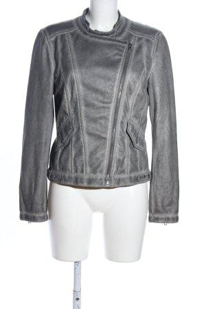 Marc Cain Biker Jacket light grey casual look