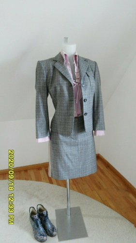 Marc Cain Business Suit grey-pink wool