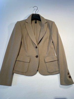 Marc Cain Blazer in maglia beige-marrone-grigio Mohair